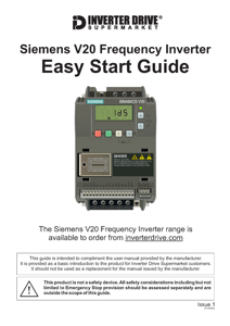 Siemens V20 Easy Start Guide