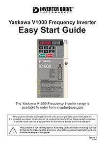 Yaskawa V1000 Easy Start Guide