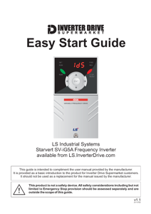 LS iG5A Easy Start Guide