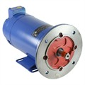 Photo of and link to MP80115DH - 0.55kW (0.75HP) x 2000RPM DC Motor - IP22 - Foot & F165 Flange Mount