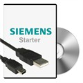 Photo of and link to Siemens PC to Inverter Cable and Software for Sinamics CU-2 Control Unit or G120C Inverter