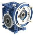 Photo of and link to TEC FCNDK40 - 10:1 Right-angle Worm Gearbox for 71 Frame B14 Motor to 0.55kW