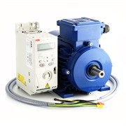 Photo of AC Variable Speed Drive and IE3 Motor Kit - 1.5kW (2.0HP) 230V Single Phase ABB to Marelli 140-2800RPM