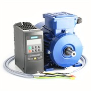 Photo of AC Variable Speed Drive and Motor Kit - 2.2kW (3.0HP) 230V Single Phase Siemens MM420 to Marelli 140-2800RPM