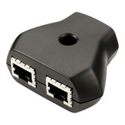 Photo of Invertek RS485 Data Cable Splitter for E2 (1 x RJ45 to 2 x RJ45)