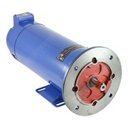 Photo of MP80200 1.1kW (1.5HP) x 2000RPM DC Motor 180V Foot/71D-14 Flange Mount IP22