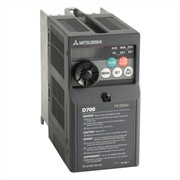 Photo of Mitsubishi D710W 0.37kW 115V 1ph to 230V 3ph AC Inverter Drive, No Filter