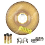 Photo of Spares Kit for Parvex M26 Motors Brush, Disc & Bearing Set