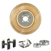 Photo of Spares Kit for Parvex MC17/MC17H/MC17N Motors Disc Brushes Bearing Set