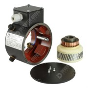 Photo of Radio Energie Hollow Shaft Tachogenerator 60V/1000RPM (equavalent to REO AC14)