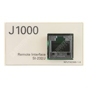 Photo of Yaskawa - SI-232/J - J1000 RS232-C Serial Communications Interface for JVOP-182