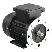 Photo of TEC - 230V Single Phase Motor 0.12kW (0.16HP) Cap Run 2P 56F Foot & Flange Mount