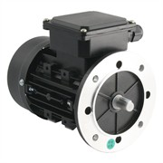 Photo of TEC - 230V Single Phase Motor 0.25kW (0.33HP) Cap Run 2P 63F Flange