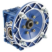 Photo of TEC - 0.09kW x 17RPM 80:1 Right-angle Worm Gearbox for 4 Pole 56 Frame B5 Motor - FCNDK30
