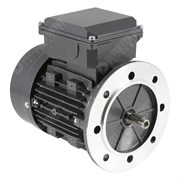 Photo of TEC - 230V single Phase Motor 0.37kW (0.5HP) Cap Run 2P 71F Flange