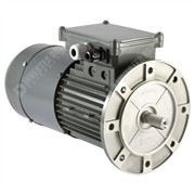 Photo of Vascat 0.75kW (1HP) x 1400RPM/2730RPM AC Vector Motor, IP54, B5, 80 Frame