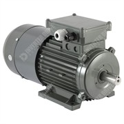 Photo of Vascat 1.5kW (2HP) x 1420RPM/2760RPM AC Vector Motor, IP54, B3, 90 Frame