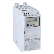 Photo of WEG CFW300  IP20 1.5kW 230V 1ph to 3ph AC Inverter Drive, Unfiltered