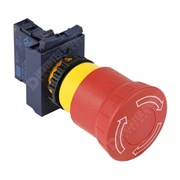 Photo of WEG CSW Emergency Stop Pushbutton, Red, 22mm with Flange and Normally Closed Contact
