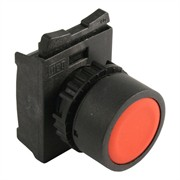 Photo of WEG CSW-BF1 - Pushbutton, Flush, Red, for 22mm hole