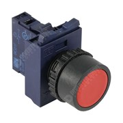 Photo of WEG CSW Momentary Pushbutton, Red, 22mm with Flange and Normally Closed Contact