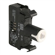 Photo of WEG BIDL0-D61 - LED Contact Block, 110-130VAC, White