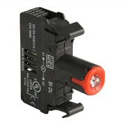 Photo of WEG BIDL1-D61 - LED Contact Block, 110-130VAC, Red