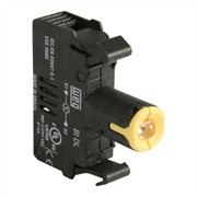 Photo of WEG BIDL3-D61 - LED Contact Block, 110-130VAC, Yellow