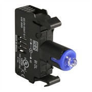 Photo of WEG BIDL4-D61 - LED Contact Block, 110-130VAC, Blue