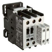 Photo of WEG CWM50 – 50A/90A 22kW/45kW 3 Pole Contactor, 1NO+1NC Aux, 110V AC Coil