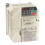 Photo of Yaskawa J1000 IP20 0.4kW/0.75kW 400V 3ph AC Inverter Drive, DBr, Unfiltered