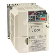 Photo of Yaskawa J1000 IP20 1.5kW/2.2kW 230V 1ph to 3ph AC Inverter Drive, DBr, Unfiltered