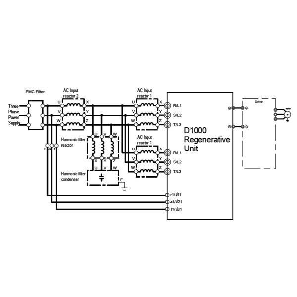 parker ssd 650 2 2kw 230v 1  3ph to 3ph ac inverter drive  no keypad  rs232 port  unfiltered