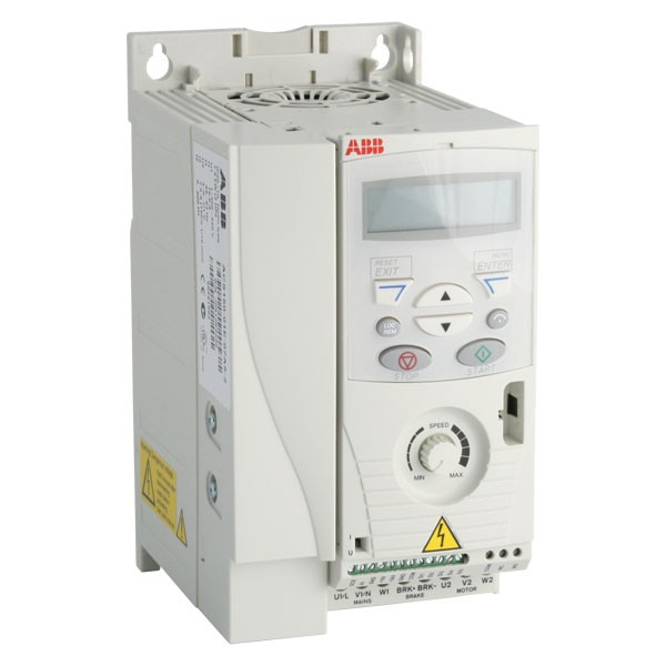 Photo of ABB ACS150 2.2kW 230V 1ph to 3ph AC Inverter Drive, C3 EMC