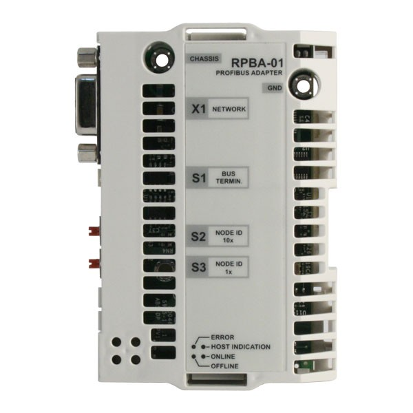ABB Drives RPBA 01 Profibus DP Adapter Module on brushless motor parts