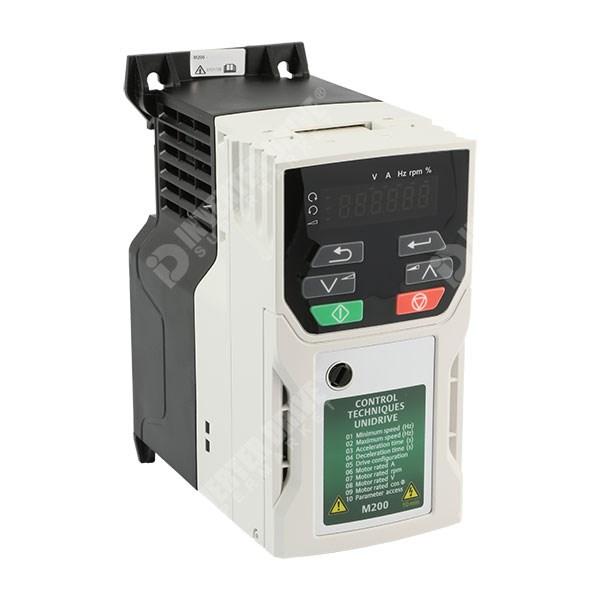 Ct Unidrive M200 0 37kw 230v 1ph To 3ph Ac Inverter Drive