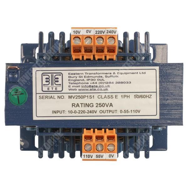 ETE - Control Circuit Transformer - 240V/110V 250VA ...