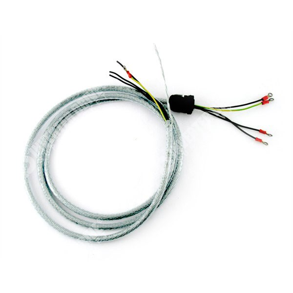 3 Phase Power Cable 1.5mm2 x 2m Length with M4 Rings and M20 Gland on
