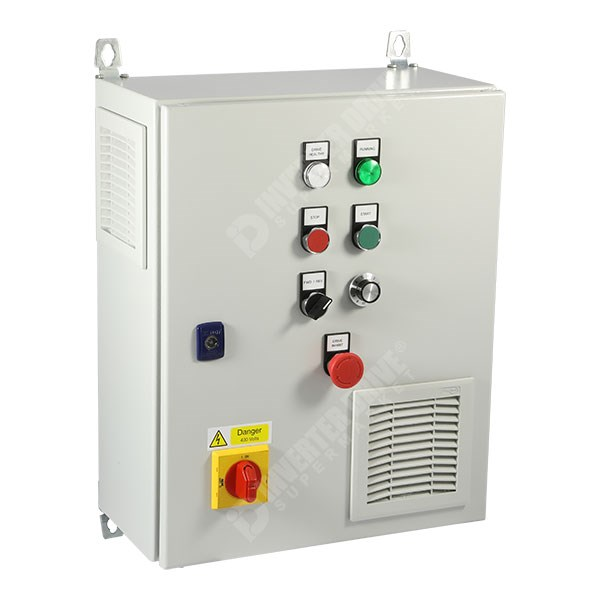 IDS Easy Start Panel ESP01 4 0kW 400V 3ph Parker AC10 in IP54 Enclosure, C3  EMC Filter
