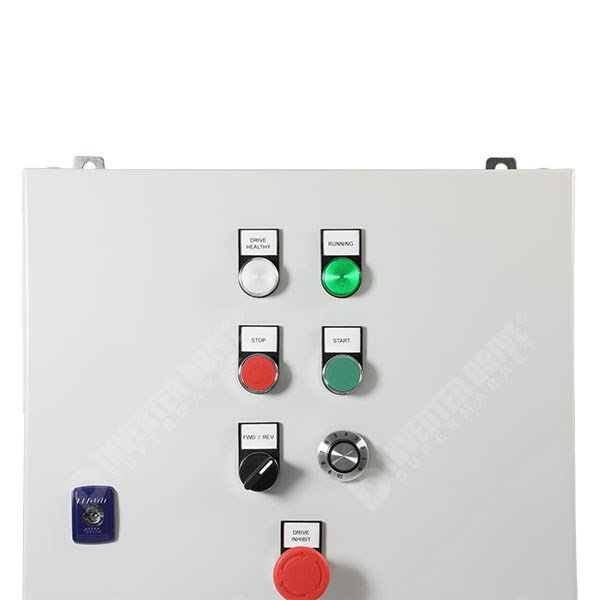 IDS Easy Start Panel ESP01 2 2kW 400V 3ph Parker AC10 in IP54 Enclosure, C3  EMC Filter