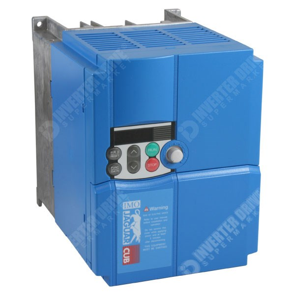 Photo of IMO Jaguar Cub CUB11A-1E 2.2kW 230V 1ph to 3ph AC Inverter Drive, DBr, C3 EMC