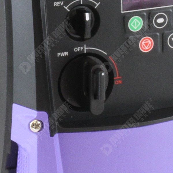 Photo of Invertek Spare On/Off Knob for Optidrive E2 Series Inverter