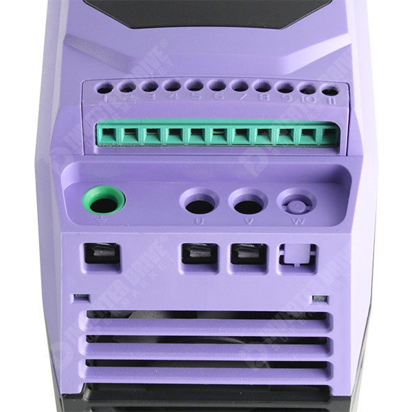 Photo of Invertek Optidrive E2 IP20 0.37kW 230V 1ph to 230V 1ph AC Inverter Drive, C1 EMC