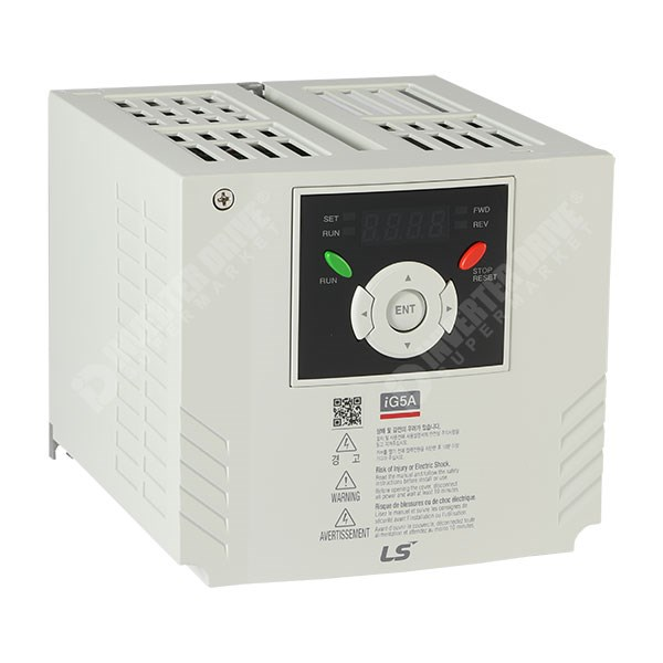 Photo of LS Starvert iG5A - 2.2kW 400V - AC Inverter Drive Speed Controller, Unfiltered