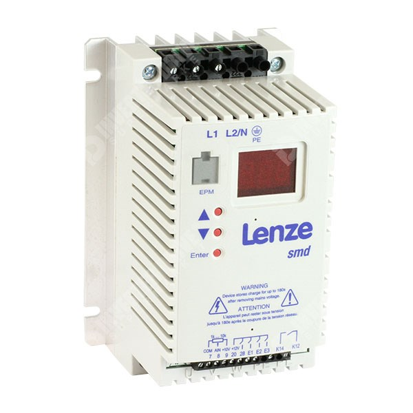 Lenze Smd 0 37kw 230v 1ph To 3ph Ac Inverter Drive Basic