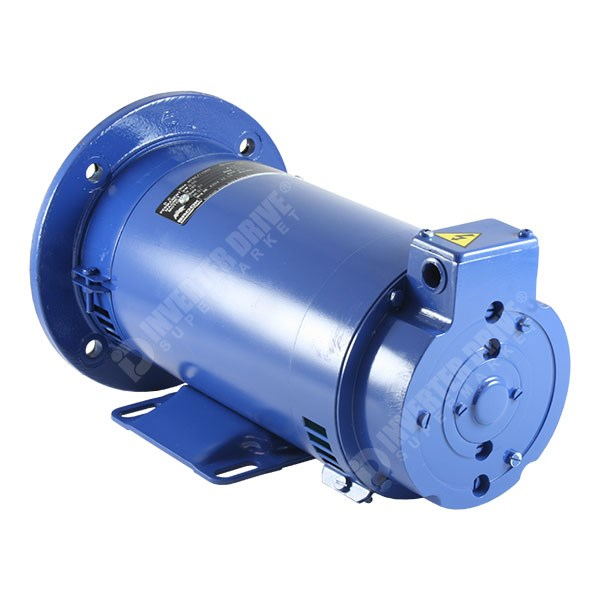 Mp80160dh 1hp x 2000rpm dc motor 180v foot 71d 19 for 180v dc motor suppliers