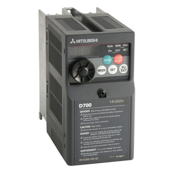 mitsubishi d700 sc 0 37kw 230v 1ph to 3ph ac inverter drive dbr rh inverterdrive com mitsubishi d700 manual inverter mitsubishi d700 manual portugues