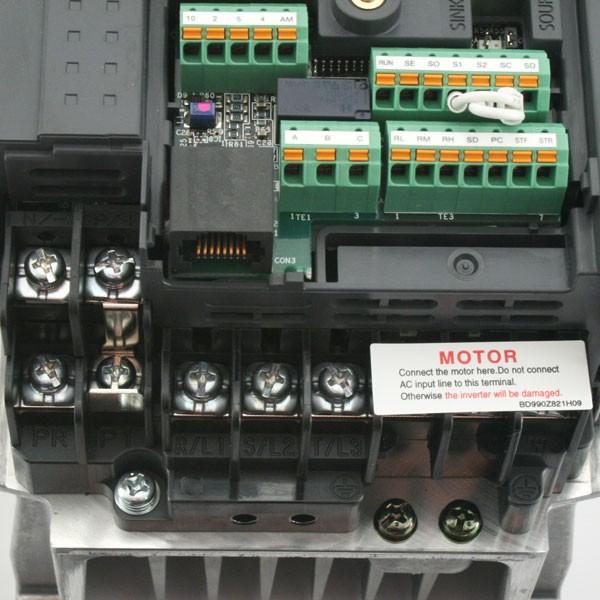 mitsubishi d700 sc 1 5kw 400v 3ph ac inverter drive unfiltered e8 rh inverterdrive com mitsubishi fr-d740 user manual mitsubishi fr-d740-120-ec manual