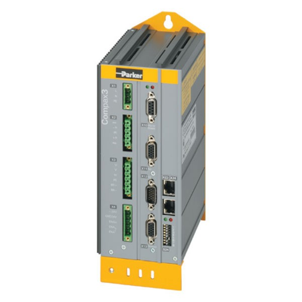 Photo of Parker Hannifin Compax 3 I12 T11 - 2.5A x 230V AC Servo Positioning Drive