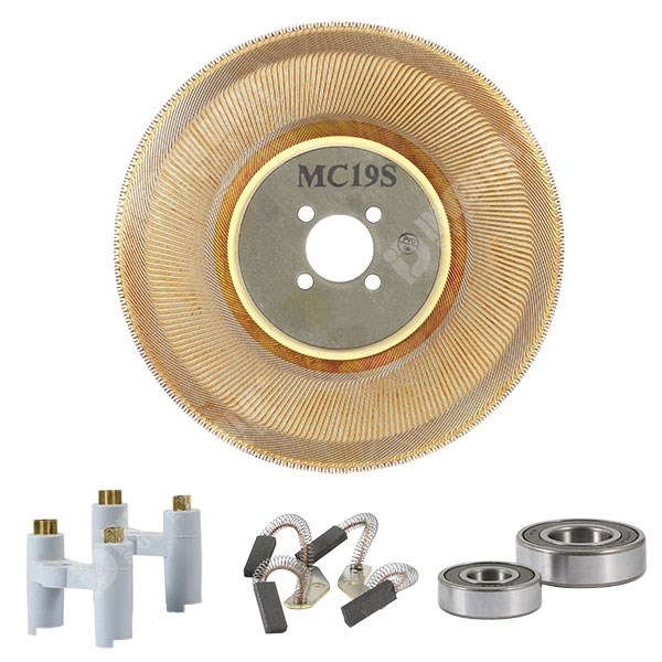 Photo of Spares Kit for Parvex MC19S Motor Disc Brush Pairs Holders Bearings